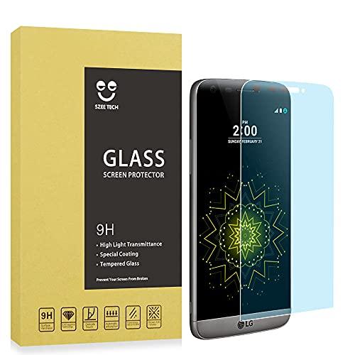 SZEETECH Protector de pantalla de cristal templado para LG G5 alta defintion...
