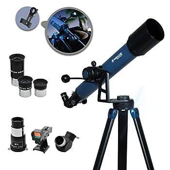 Meade Instruments 234001 Star Pro AZ 70mm Refracting Telescope and Smart Phone Adapter Matt Finish