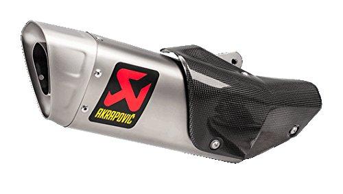 Akrapovic Slip-On Exhaust (Homologated/Titanium) for 15-18 Yamaha YZF-R1