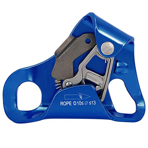Demeras Climbing Ascender Magnesium Alloy Chest Ascender for 8mm-13mm Rope Handle Clamp Accessory