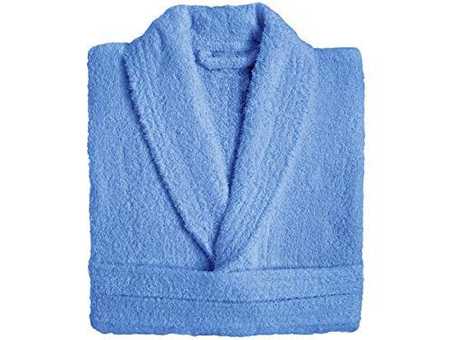 Barcelo Hogar - Albornoz Baño Zafiro de Rizo - Color Azul