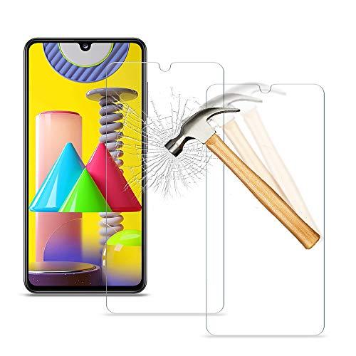 wsky [2 Stück] Panzerglas Schutzfolie für Samsung Galaxy A41, 9H Härte Panzerglasfolie, Anti-Bläschen, Anti-Kratzen, Panzerfolie Schutzfolie Folie für Samsung A41