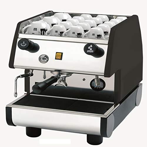 La Pavoni 1 Group Commercial Espresso/Cappuccino Machine, 22' H x 15'W x 21'D, Stainless/Black