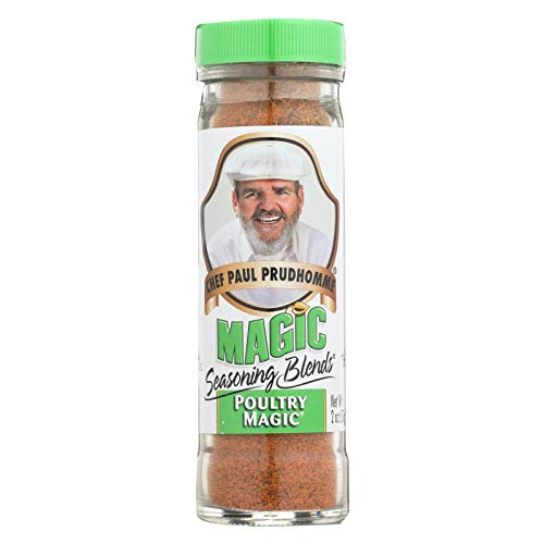 Magic Seasonings Chef Paul Prudhommes Magic Seasoning Blends - Poultry Magic - 2 oz - Case of 6