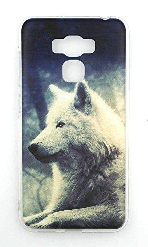 TPU Carcasa para Funda Asus ZenFone 3 Max 5.5 Dual SIM TD-LTE TW JP HK ZC553KL Funda Case Cover L