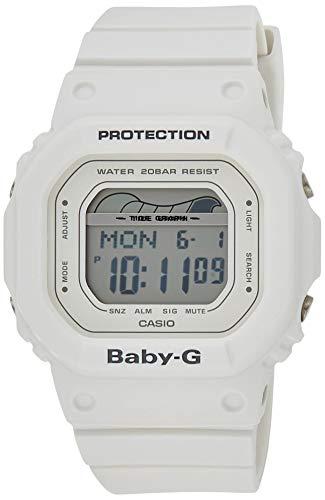 BABY-G Damen Digital Quarz Uhr mit Harz Armband BLX-560-7ER
