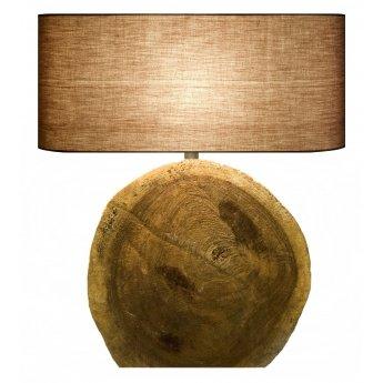 Lampe bois flotté CIRCULAR