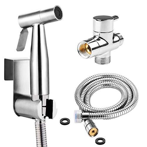 BbfStyle - SUS 304 - Kit douchette WC avec Vanne 3 voies (3/8\