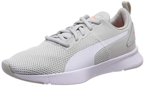 PUMA Flyer Runner, Zapatillas para Correr de Carretera Unisex Adulto, Gris (Gray Violet White/Bright Peach), 37.5 EU