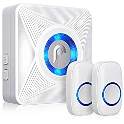 Fosmon WaveLink 51008HOM Wireless Doorbell with 2 Buttons