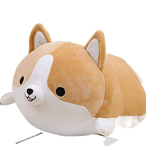 50 cm lindo Corgi perro hogar suave almohada animal dibujos animados peluche suave decoración almohada encantadora