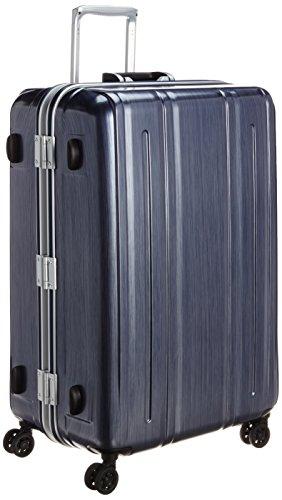 [エバウィン] 軽量スーツケース Be Light Premium 内装充実 94L 74 cm 4.6kg ネイビー(キズ軽減加工)