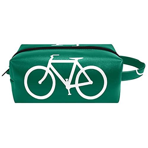 Maquillage Toilette Trousse de Toilette Trousse de Maquillage Organisateur Portable Haute capacité Route de vélo de vélo pour Sac Femme