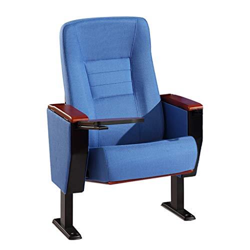 Silla de cine DIOE Sillón de Cine, Silla de auditorio, WordPad Oculto, diseño ergonómico, Azul