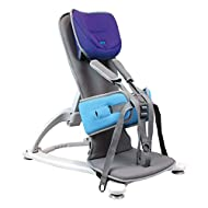 Firefly by Leckey GoTo Postural Support Seat - Lightweight Portable Supportive Seat for Children with Special Needs – Floorsitter and Advanced Headrest - Blue, Size 2