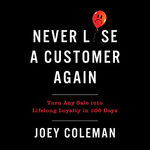 Page de couverture de Never Lose a Customer Again