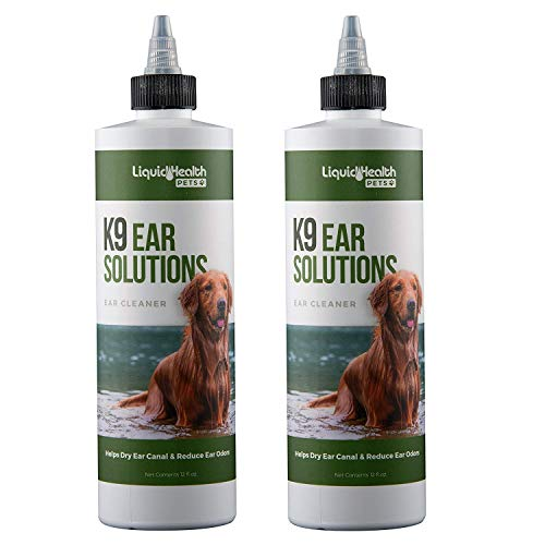 Liquid Health for Animals K9 Ear Solutions 12 oz Liquid (2-Pack)