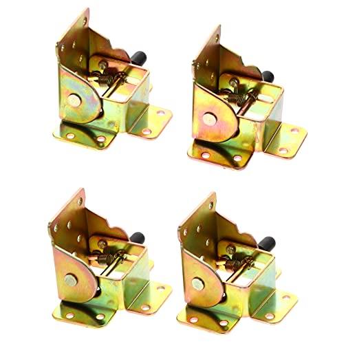 DOITOOL - Bisagra plegable de 4 patas de mesa de freno plegable...