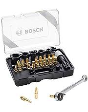 ボッシュ(BOSCH) 27ピースマルチドライバー&ソケットセット(ゴールド) 2607017459