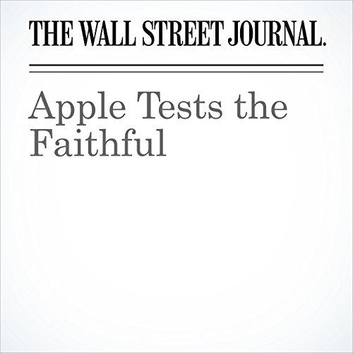 Apple Tests the Faithful copertina