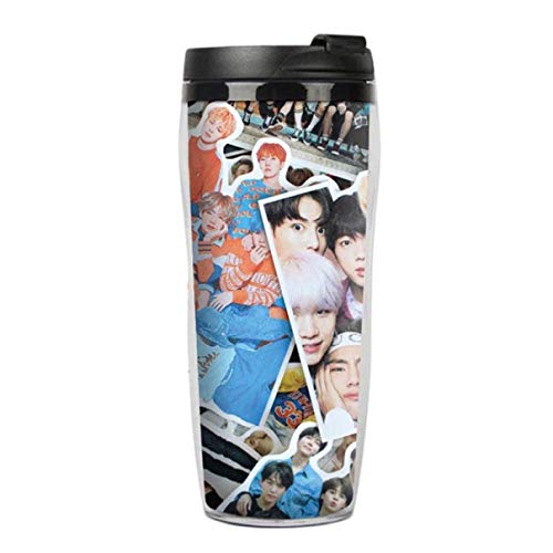 Barney Showy KPOP Wings Cup Bangtan Boys Merchandising Botella de Agua Jung Kook Jimin Suga V, Hombre, Estilo02.