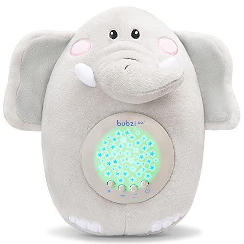 Sensor Activado Por el llanto Del Bebé Peluche Para Bebé Elefante - Máquina de Ruido Blanco – Luz quitamiedos infantil – Regalo para Bebé Niña y Niño - Calmante del Sueño – Regalo para Recién Nacido