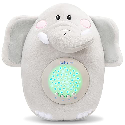 Product Image of the Baby Soother Cry Activated Toys Elephant White Noise Sound Machine, Toddler...