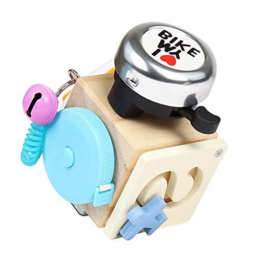 Actividad ocupada, juguete del bloque ocupado para los niños de los niños niños niños niños juguete del Sorter de madera Juego de cubo