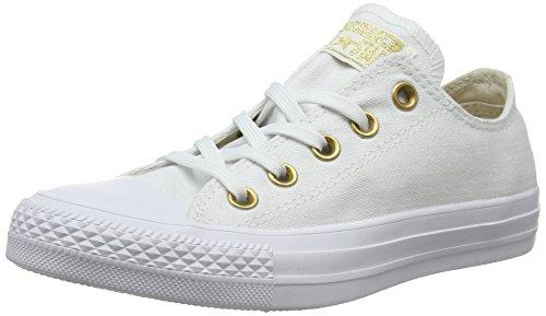Converse Damen CTAS OX Sneaker, Weiß (White/Driftwood/White 102), 40 EU