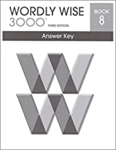Best wordly wise 3000 book 8 answer key Reviews