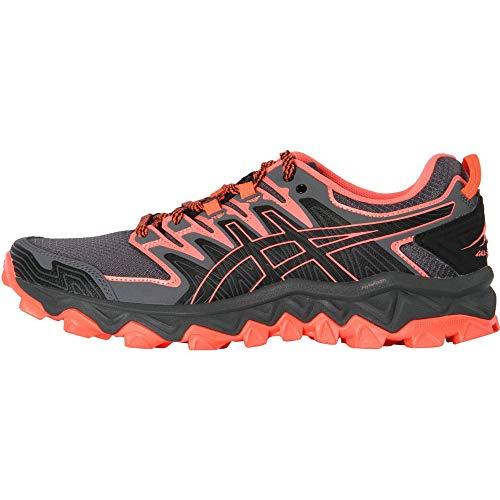 ASICS - Gel-Fujitrabuco 7 - Zapatillas de correr para mujer, color negro, EU 38