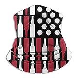 LENGDANU Botellas de la bandera de EE. UU. Pasamontañas, polaina...