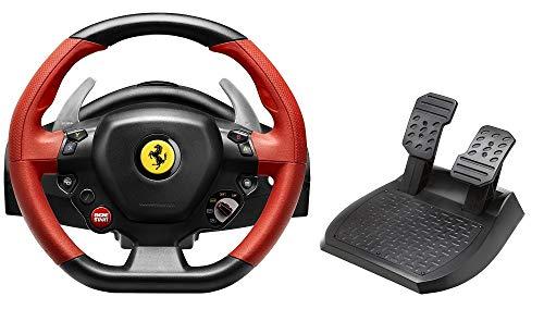 Thrustmaster Ferrari 458 Spider Racing Wheel - Replik des FERRARI 458 SPIDER Lenkers - Großes, anpassbares und optimiertes Pedalset. Funktioniert mit Xbox Series X|S