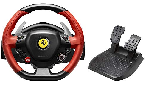 Thrustmaster Ferrari 458 Spider Racing Wheel - Cable - Xbox One - Black, Red