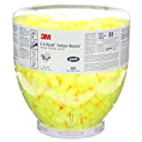 3M E-A-Rsoft Yellow Neons (Large Size) One Touch Refill (Pack of 400)