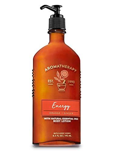 Bath and Body Works Aromatherapy Body Lotion orange ginger Energy 6.5 fl oz 192 mL