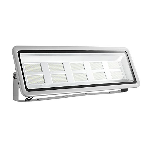 AILIB 1000W Outdoor LED Flood Lights,IP65 Waterproof, Daylight White 6000K Super Bright Security Lights, Outdoor Floodlight for Yard, Garden, Playground, Basketball Court (Daylight White, 1000W)