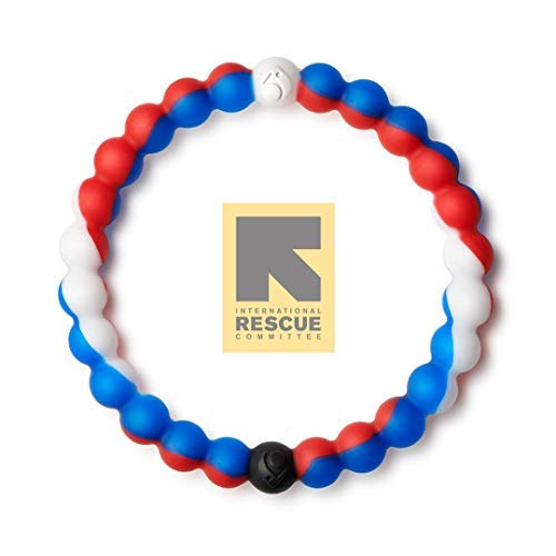 Lokai Wear Your World Cause Bracelet, Blue/Red/White, 6