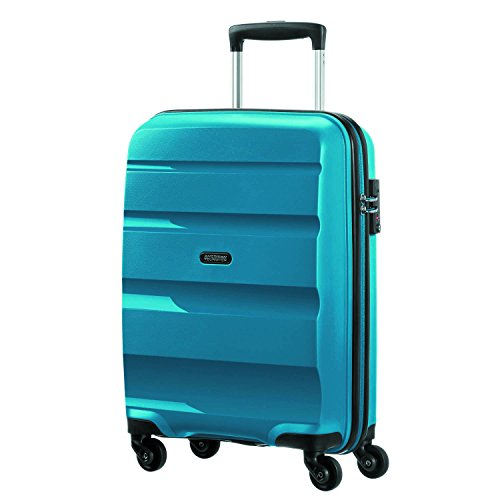 American Tourister Bon Air - Spinner S Equipaje de mano, 55 cm, 31.5 liters, Azul (Seaport Blue)
