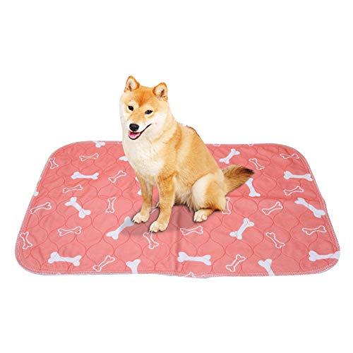 Smandy Pet Pee Pad, 3 maten Herbruikbare Waterdichte Puppy Hond Kat Pee Bed Pad Tapijt Wasbaar Huisdier Trainging Pads Super Absorbens Hond Urine Mat, 40 × 60cm
