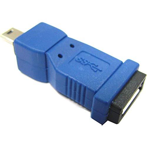 BeMatik - Adaptador USB 3.0 a USB 2.0 (MicroUSB AB Hembra a...
