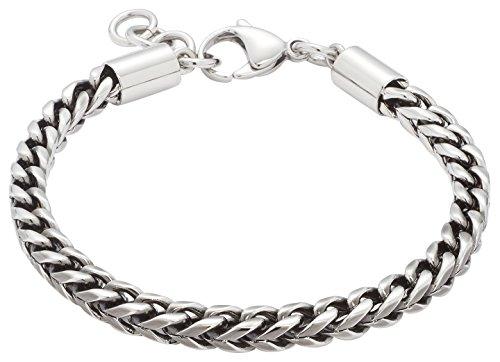 Leonardo Jewels Damen Herren Armband Men Edelstahl 22,5 cm   016300