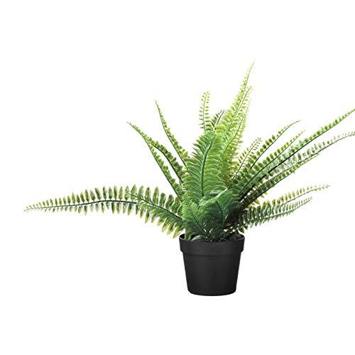 My-Stylo Collection - Planta artificial en maceta (9 cm, diámetro de la maceta: 9 cm, altura de la planta: 34 cm)