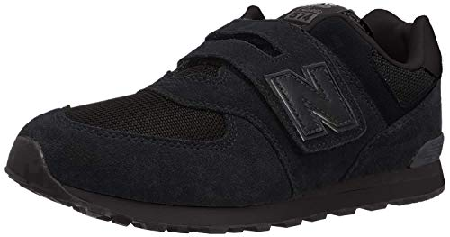 New Balance 574v2, Sneaker Unisex-Bambini, Nero Black TB, 35.5 EU
