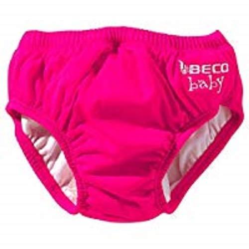 Beco Baby Aqua-Windel Slipform mit Gummibündchen, Schwimmhilfe,Rosa, XS (3-4 KG)