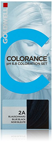 Goldwell Colorance pH 6,8 Colorations Set 2A, blauschwarz, 1er Pack, (1x 90 ml)