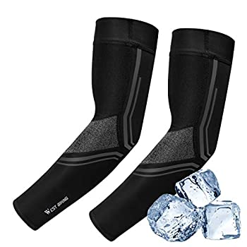 Cooling Arm Sleeves & Leg Sleeves UPF 50 UV Protection Arm Cover Leg Cover Tattoo Sleeves for Cycling Running Fishing