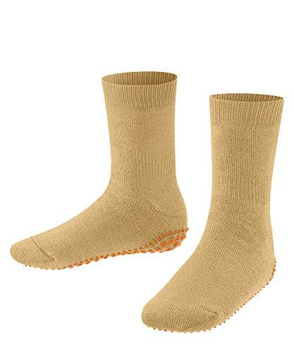 FALKE Unisex Kinder Catspads K HP Hausschuh-Socken, Gelb (Hay 1120), 31-34 (7-9 Jahre)