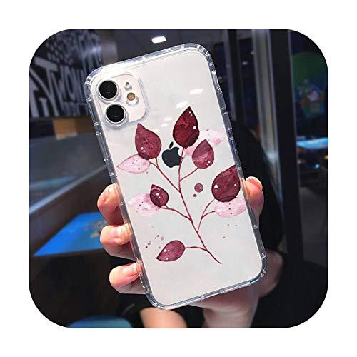 Funda transparente para iPhone 11 12 Mini Pro XS MAX 8 7 6 6S Plus X 5S SE 2020 XR-a5-iPhone12mini