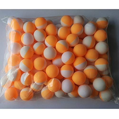 Review Of NOLOGO LGDA 100pcs/Pack 3Stars Professional Table Tennis Ball White Orange Double Color 40...